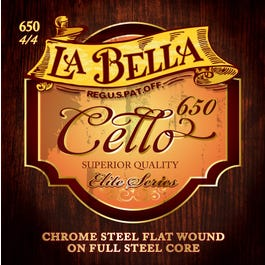 Image for 650 Full Core Metal Cello String Set (4/4 Size) from SamAsh