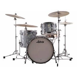 Image for Classic Maple 3-Piece Drum Shell Pack with Free Matching Snare - Sky Blue Pearl from SamAsh