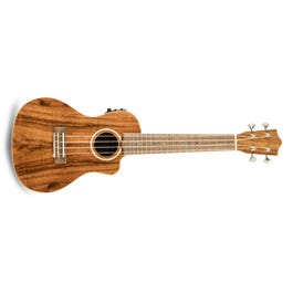 Image for ACS-CEC Solid Acacia Acoustic-Electric Concert Ukulele from SamAsh