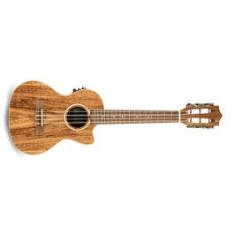 Image for Acacia Solid Top 6-String Acoustic-Electric Tenor Ukulele from SamAsh