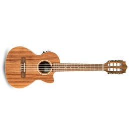 Image for Acacia Solid Top 8-String Acoustic-Electric Tenor Ukulele from SamAsh