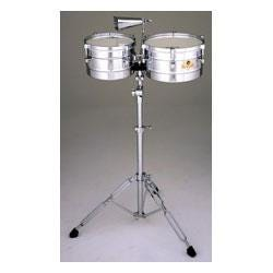 Image for Caliente Steel Timbalitos w/Tilt Stand & Cowbell from SamAsh