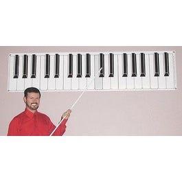 Long Beach Music Classroom Keyboard Poster