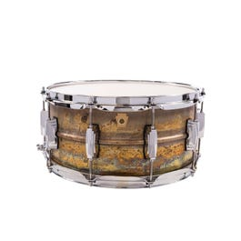 Image for Raw Brass Phonic Snare Drum from SamAsh