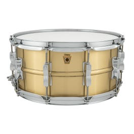 """Ludwig Acro Brass 6.5""""x14"""" Snare Drum"""