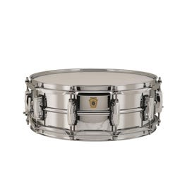 Image for Chrome-over-Brass Supraphonic Snare Drum from SamAsh