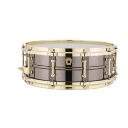 Image for Black Beauty Snare Drum with Brass Hardware from SamAsh