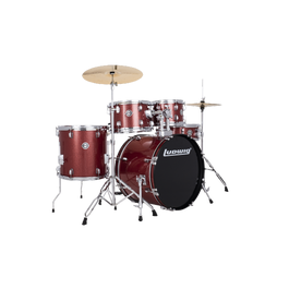 """Ludwig Accent 5-Piece Fuse Drum Set - 20"""" Bass"""