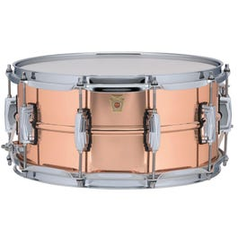 Image for Copperphonic Snare Drum with Raw Shells from SamAsh