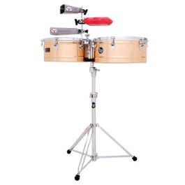 Image for LP1415-B Prestige Series Brass Timbales from SamAsh