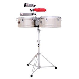 Image for LP1415-S Prestige Series Steel Timbales from SamAsh