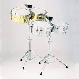 Latin Percussion M257BNG Matador Timbales (Brushed Nickel Finish)