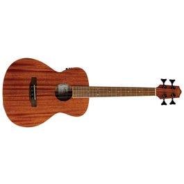 Lanikai MA-EBU Mahogany Acoustic-Electric Bass Ukulele