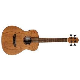 Lanikai OA-EBU Oak Bass Acoustic-Electric Ukulele