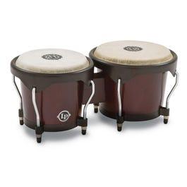 Latin Percussion City Bongos, Dark Wood Finish