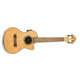Image for Quilted Maple Natural Stain Acoustic-Electric Tenor Ukulele from SamAsh