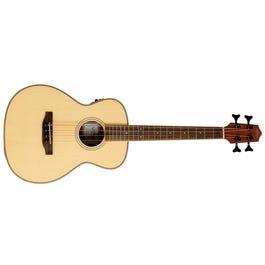 Lanikai SPST-EBU Spruce Solid Top Morado Bass Acoustic-Electric Ukulele