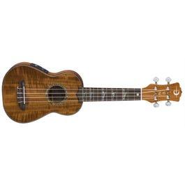 Image for High Tide Koa Soprano Acoustic-Electric Ukulele from SamAsh