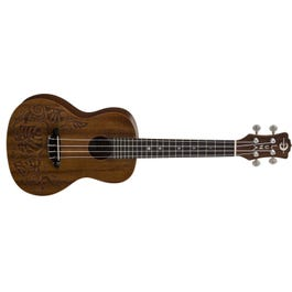 Luna Guitars Mo'o Lizard Mahogany Concert Ukulele