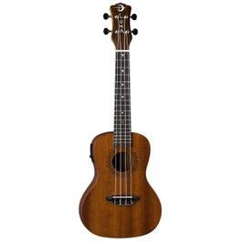 Luna Guitars Uke Vintage Mahogany Concert Acoustic-Electric Ukulele