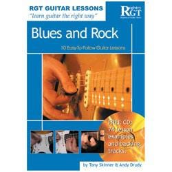 Image for RGT - Guitar Lessons - Blues and Rock (Book/CD) from SamAsh
