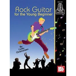Mel Bay Rock Guitar for the Young Beginner (Book + Online Audio)