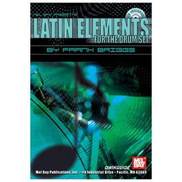Image for Latin Elements for the Drum Set (Book/CD) from SamAsh