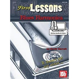 Mel Bay First Lessons Blues Harmonica (Book + Online Audio/Video)