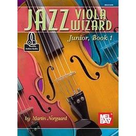 Mel Bay Jazz Viola Wizard Junior, Book 1 (Book + Online Audio)