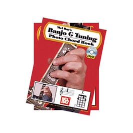 Image for Banjo G Tuning Photo Chord Book (Book and DVD) from SamAsh