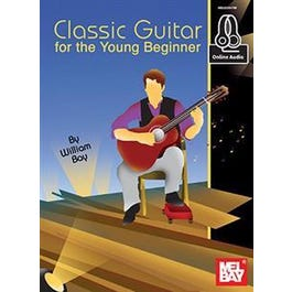 Mel Bay Classic Guitar for the Young Beginner (Book + Online Audio)