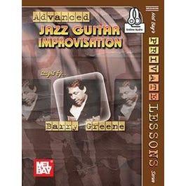 Mel Bay Advanced Jazz Guitar Improvisation (Book + Online Audio)