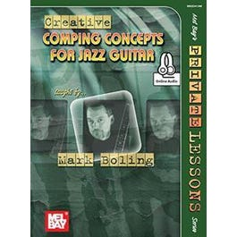 Mel Bay Creative Comping Concepts for Jazz Guitar (Book + Online Audio)