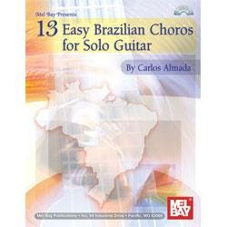 Image for 13 Easy Brazilian Choros for Solo Guitar from SamAsh