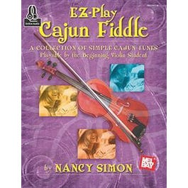 Mel Bay EZ-Play Cajun Fiddle (Book + Online Audio)