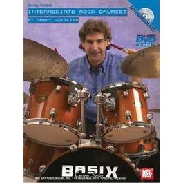 Mel Bay Intermediate Rock Drumset (DVD+Chart)