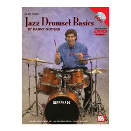 Image for Jazz Drumset Basics (DVD and Chart) from SamAsh