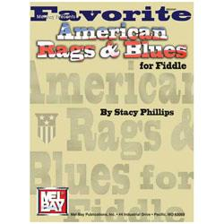 Image for Favorite American Rags & Blues for Fiddle (Book) from SamAsh