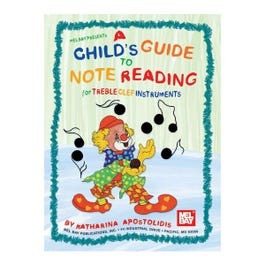 Image for A Childs Guide to Note Reading for Treble Clef Instruments from SamAsh