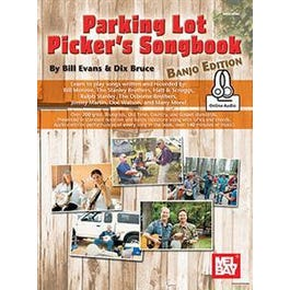 Image for Parking Lot Picker's Songbook - Banjo (Book + Online Audio) from SamAsh
