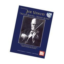 Image for Joe Venuti - Never Before...Never Again Book & CD from SamAsh