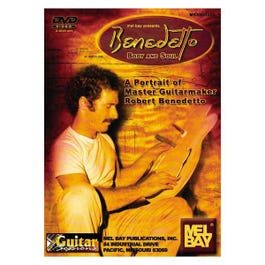 Image for Benedetto Body and Soul: A Portrait of Master Guitarmaker Robert Benedetto (DVD) from SamAsh