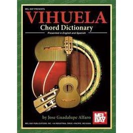 Mel Bay Vihuela Chord Dictionary (Presented in English and Spanish)
