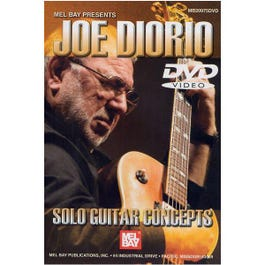 Image for Joe Diorio: Solo Guitar Concepts DVD from SamAsh