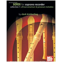 Image for Solos for Soprano Recorder Collection 1-African-American & Jamaican Melodies from SamAsh