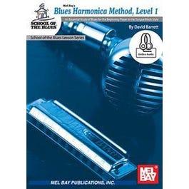 Mel Bay Blues Harmonica, Level 1 (Book + Online Audio)