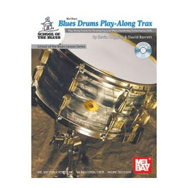 Image for Blues Drums Play Along Trax (Book and CD) from SamAsh
