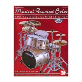 Image for Musical Drumset Solos for Recitals from SamAsh