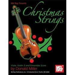 Image for Christmas Strings for Viola Violin 3 and Ensemble Score from SamAsh