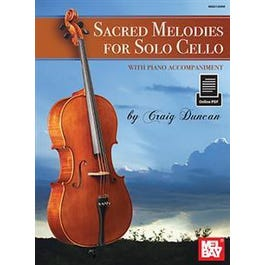 Sacred Melodies for Solo Cello (Book + Online PDF)